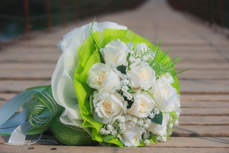 Gifta sig blommor royaltyfria bilder