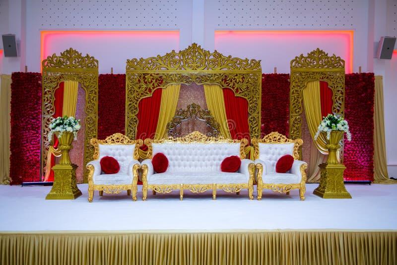 Gifta sig etappen royaltyfria foton