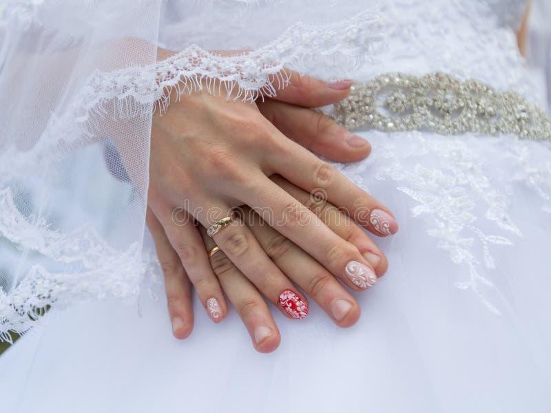 gifta sig för händer royaltyfri fotografi
