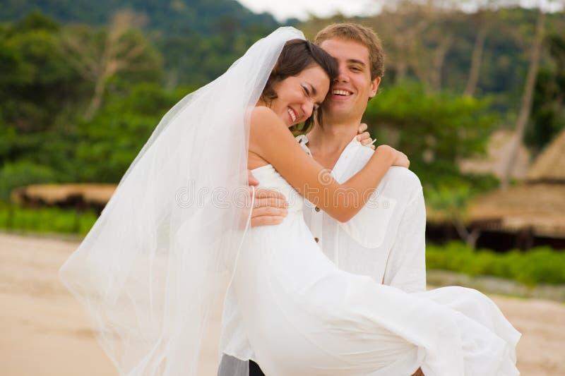 Gifta sig nytt royaltyfria foton