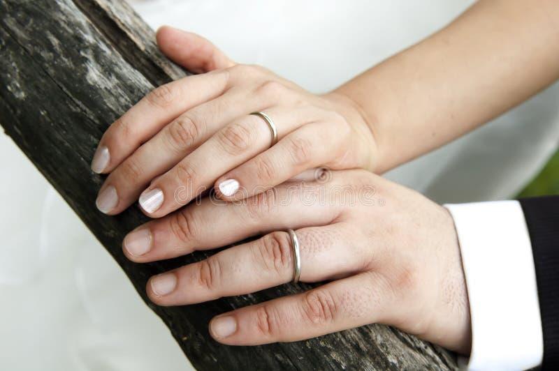 Gifta sig par arkivfoto