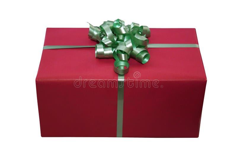 giftbox απομονωμένος στοκ φωτογραφία με δικαίωμα ελεύθερης χρήσης