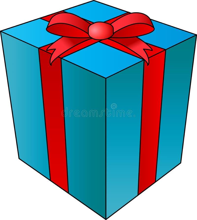 Giftbox royaltyfri illustrationer