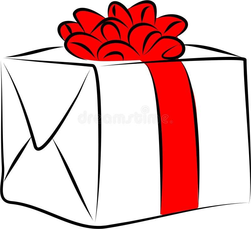 Giftbox ilustração do vetor