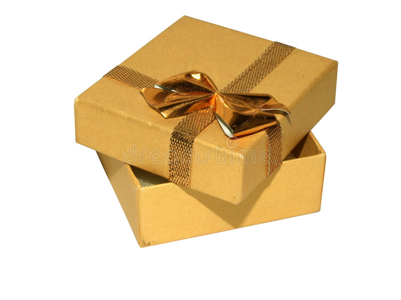 Giftbox stockfotos