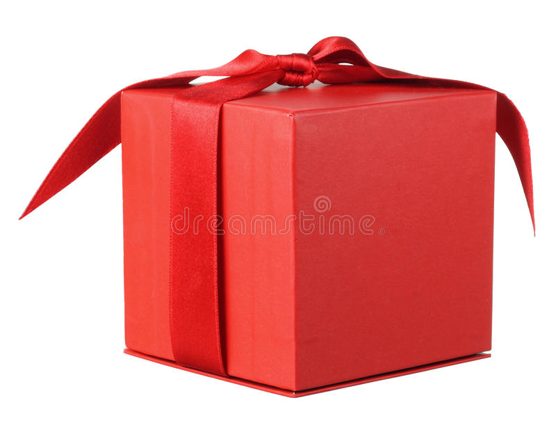 Giftbox royaltyfri fotografi