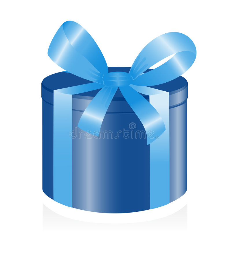 giftbox faborek ilustracja wektor