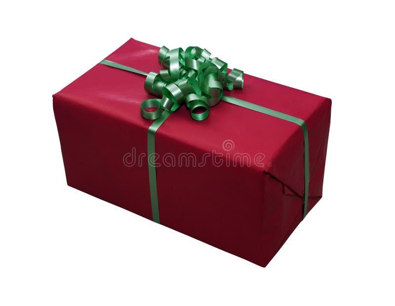 Giftbox ha isolato immagini stock