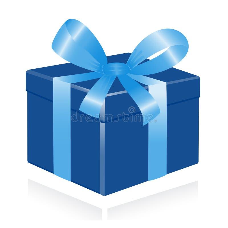 giftbox wstążki royalty ilustracja