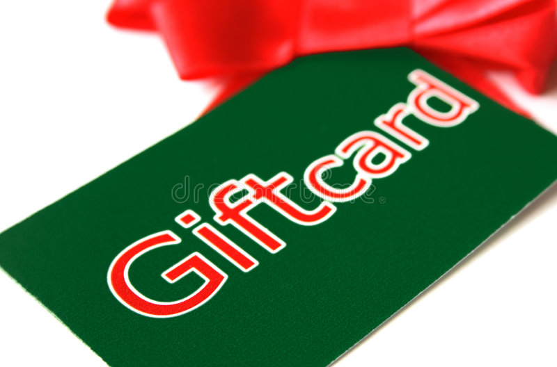 Giftcard images stock
