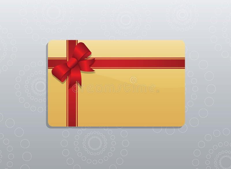 Giftcard 库存例证