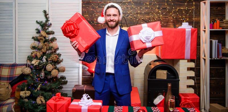 Giften voor collega's r : De giften van Kerstmis stock fotografie