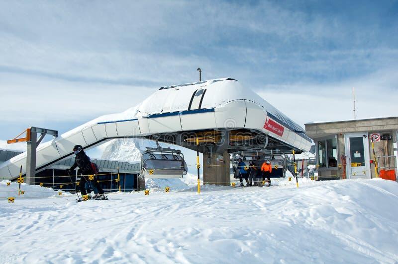 Download Gifthittli Ski Station, Switzerland Editorial Photo - Image: 29028906