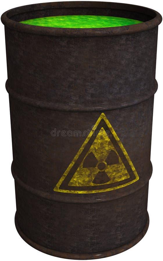 Giftig Afval, Chemische Geïsoleerde Morserij, royalty-vrije illustratie