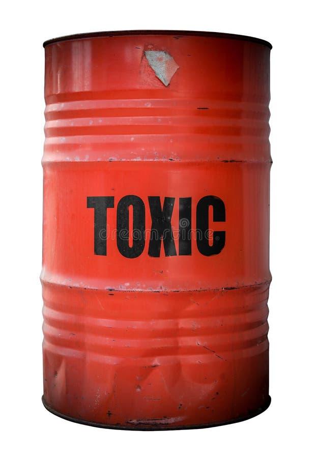 Giftig Afvalvat stock afbeelding