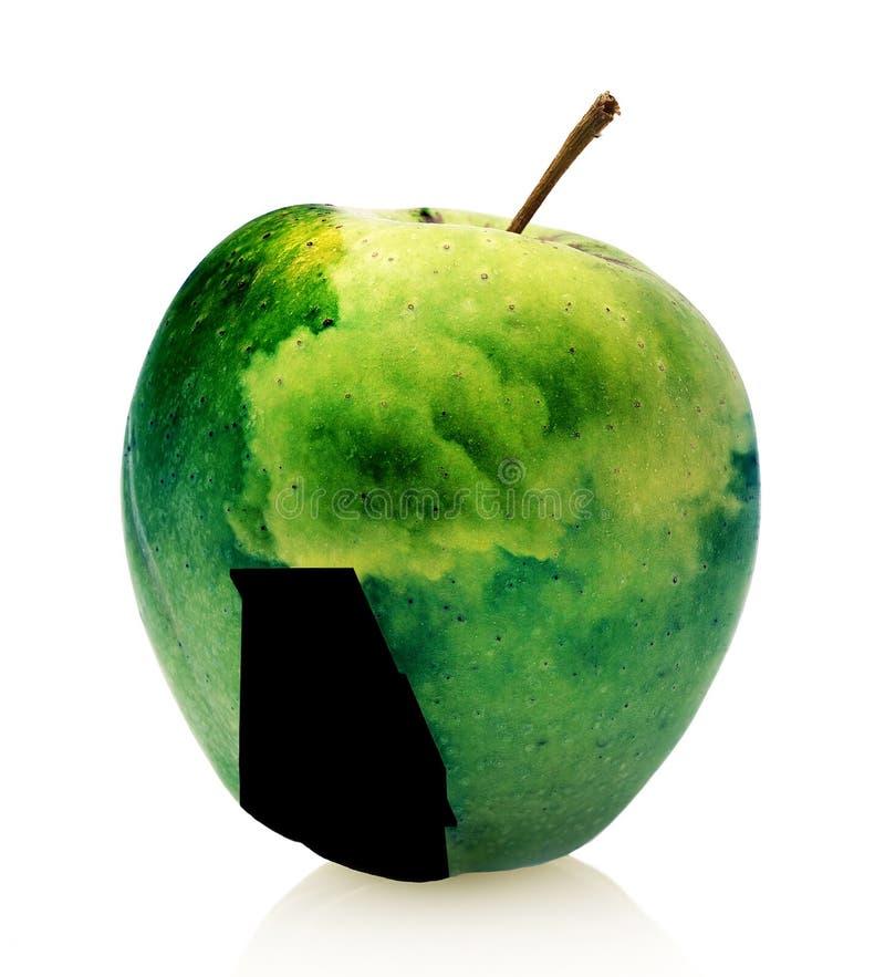 Giftig appelfruit royalty-vrije stock foto's