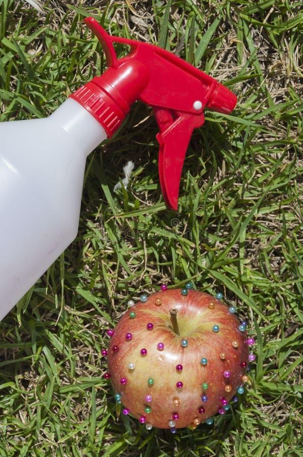 Giftige appel royalty-vrije stock afbeeldingen