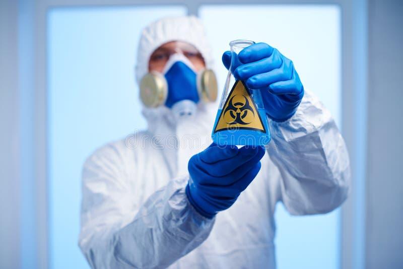 Giftige Flüssigkeit stockfotos