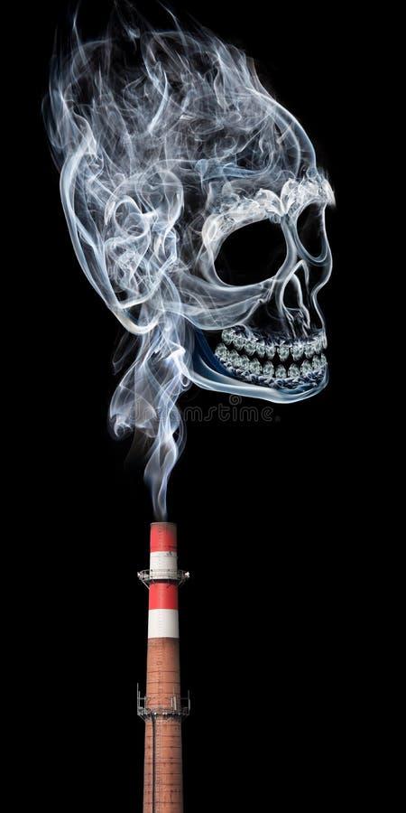 Giftige Verunreinigung stockfotos