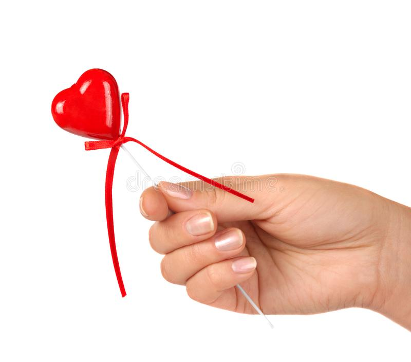 Gifting a Heart royalty free stock image