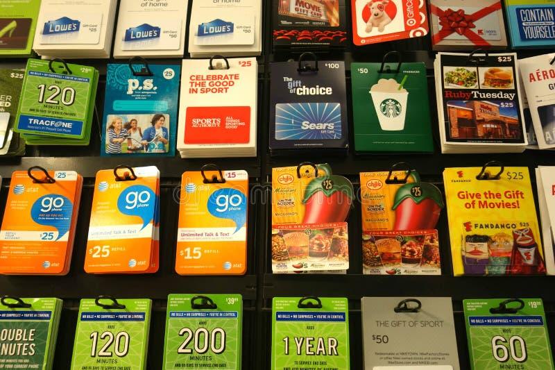 Giftkaarten