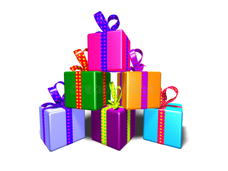 Gifts royalty free illustration