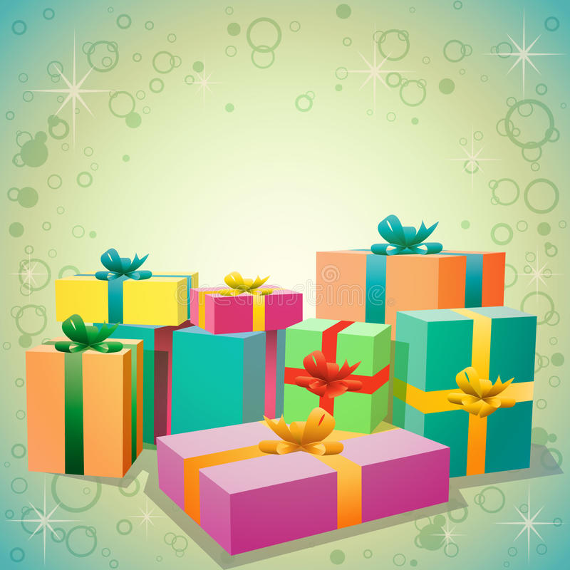 Download Gifts stock vector. Image of present, giftwrap, celebration - 20846870