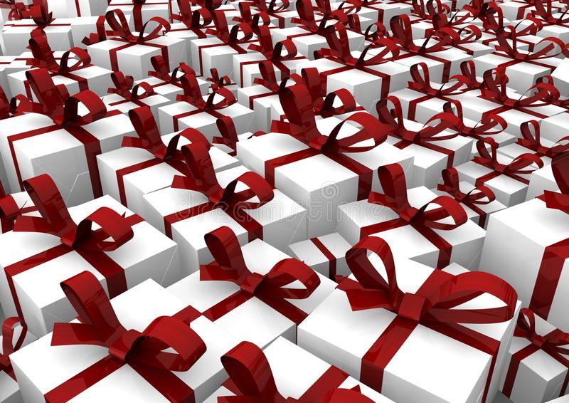 Download Gifts stock illustration. Image of posh, year, spatial - 25315434