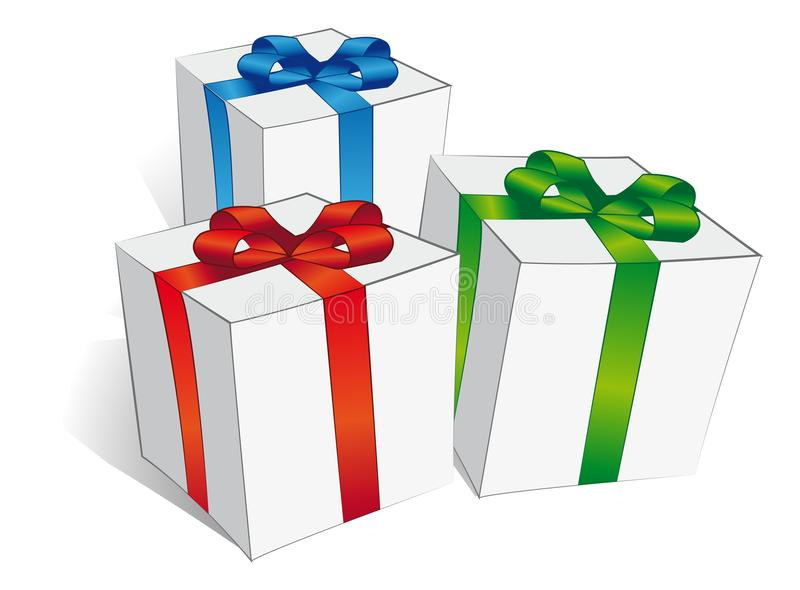 Download Gifts stock vector. Illustration of birthday, christmas - 26734080