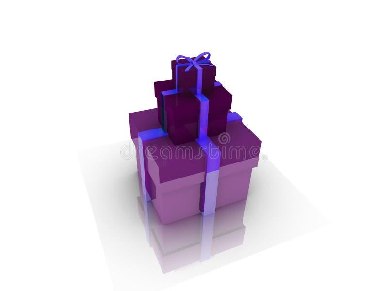 Gifts box over background 3d illustration vector illustration