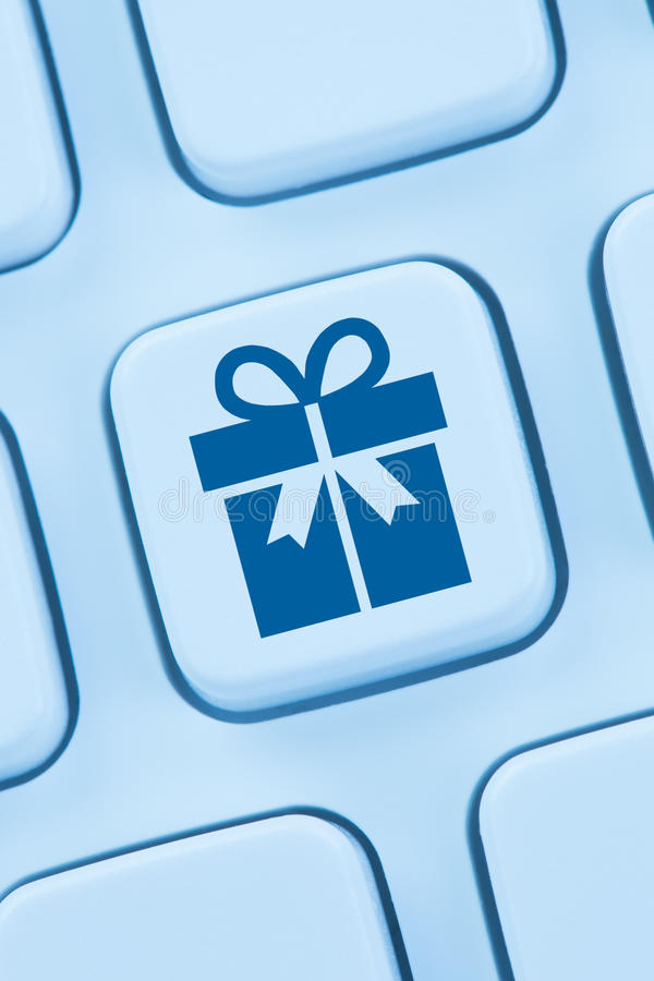 Gifts gift present online shopping ordering internet shop. Web stock image