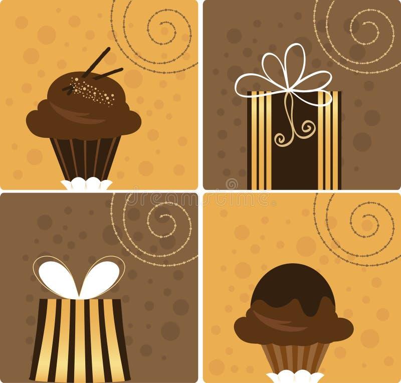 Gifts illustration royalty free stock photo