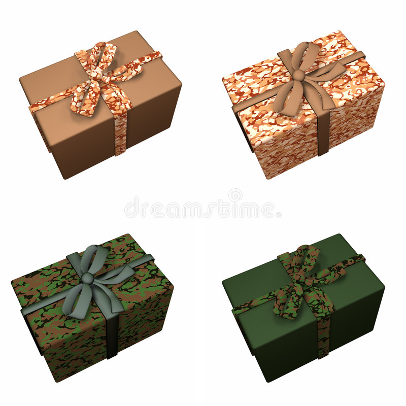 Download Gifts - Military 2 stock illustration. Image of sand, holiday - 1650369