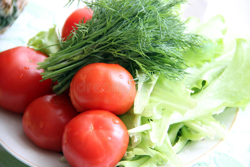 Gifts of nature, vegetables stock photo