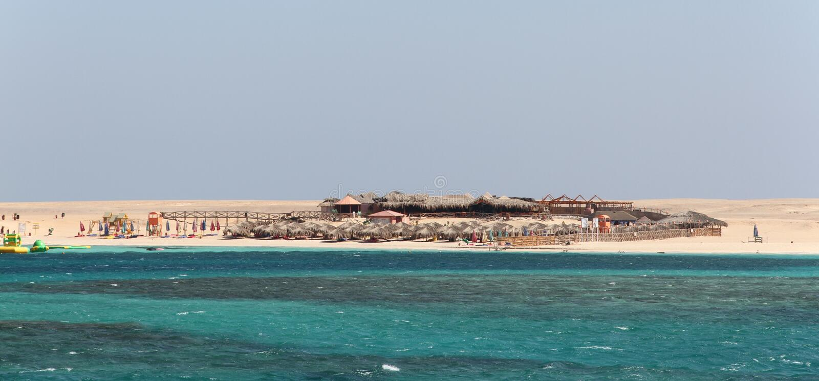 The Giftun Islands in Red Sea offshore near Hurghada, stock images