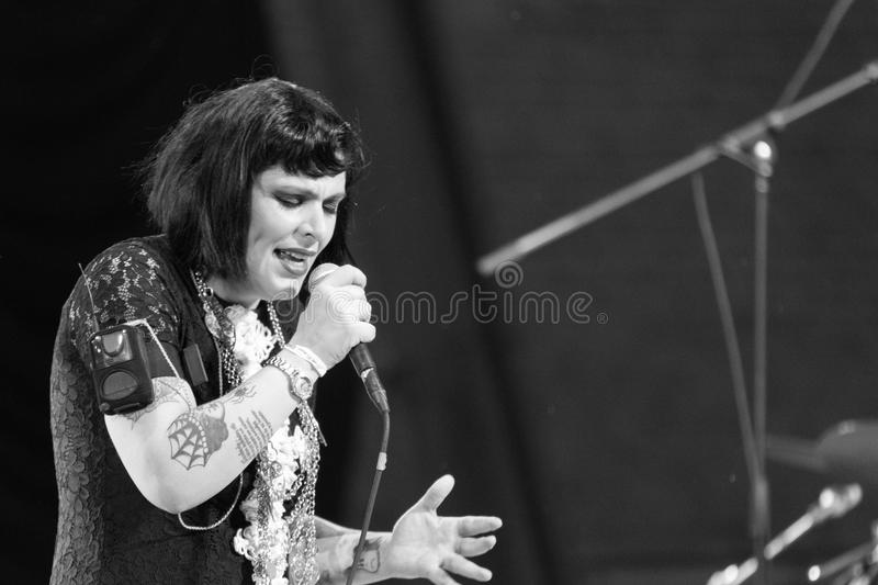"""The Giftâ€- bei SummerStage in NYC's-Central Park 2017 stockfotografie"