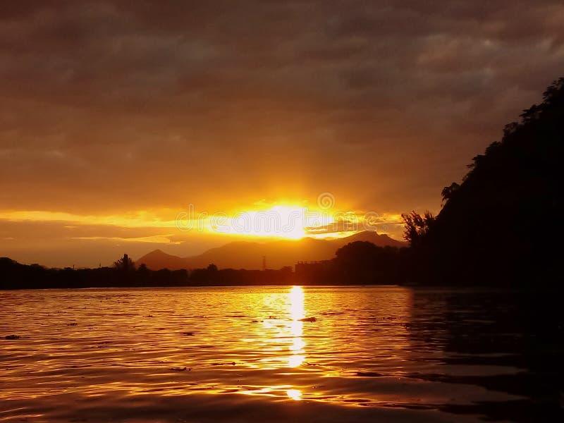 Gigóias Insel, Rio de Janeiro, Brasilien lizenzfreie stockfotografie