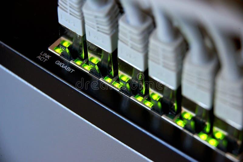 gigabit ethernet σύνδεση στοκ φωτογραφίες με δικαίωμα ελεύθερης χρήσης