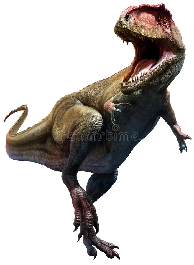 Giganotosaurus royalty-vrije illustratie