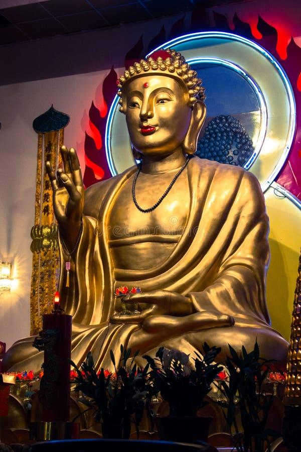 Gigant Buda od NYC obrazy royalty free