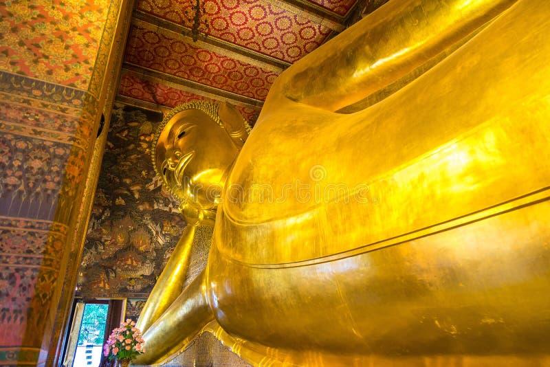 Gigant Buddha w Bangkok obrazy royalty free