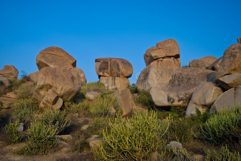 Gigant stones stock photos