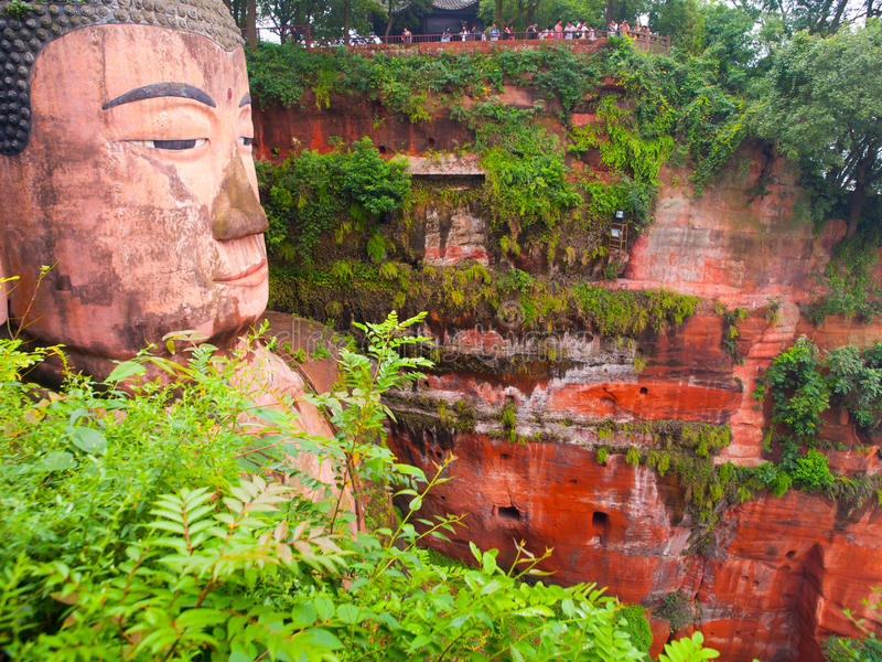 Gigante Buddha de Leshan foto de stock royalty free