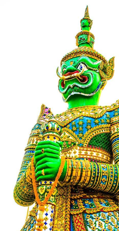 Gigante grande en templo imagenes de archivo