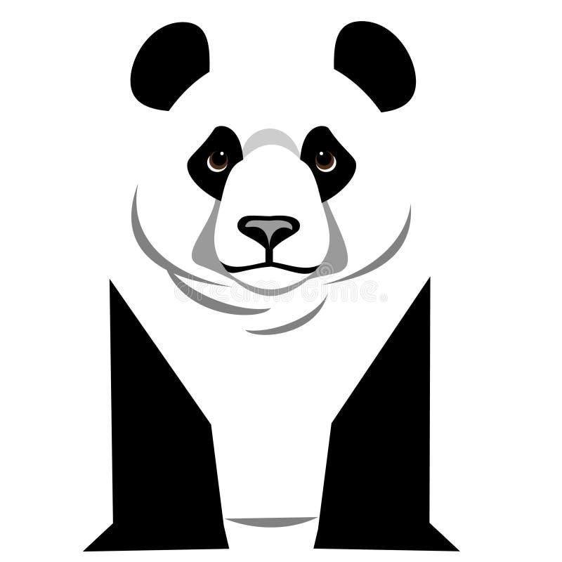 Gigante Panda Bear Graphic ilustración del vector