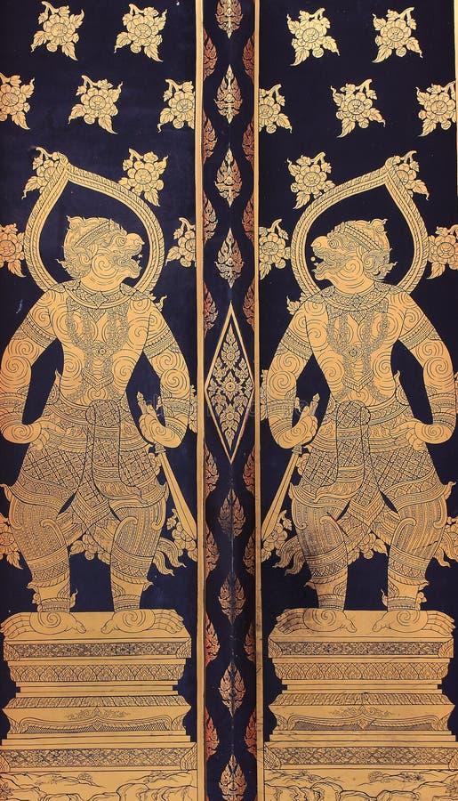 Gigante tailandês tradicional fotos de stock royalty free