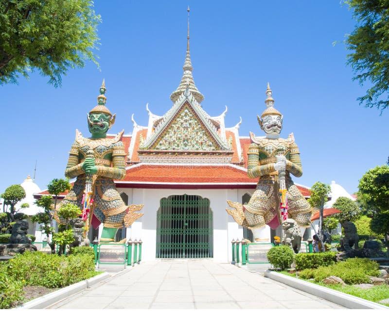 Gigantes do templo imagens de stock