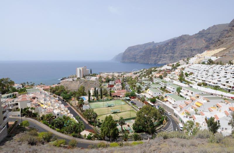 gigantes kanarowa wyspa los Tenerife zdjęcie royalty free