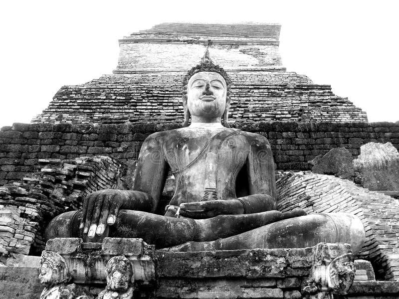 Buddha på Shukotay arkivfoto