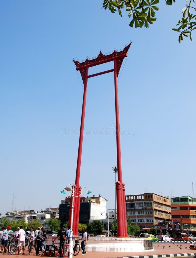 gigantyczna Bangkok huśtawka Thailand zdjęcia stock